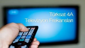 Türksat 4A Güncel Frekans Listesi