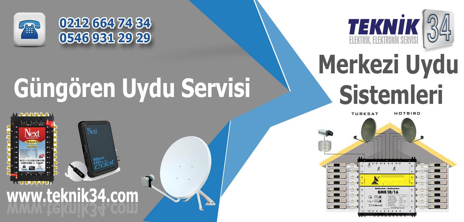 Güngören Merkezi Uydu Sistemleri