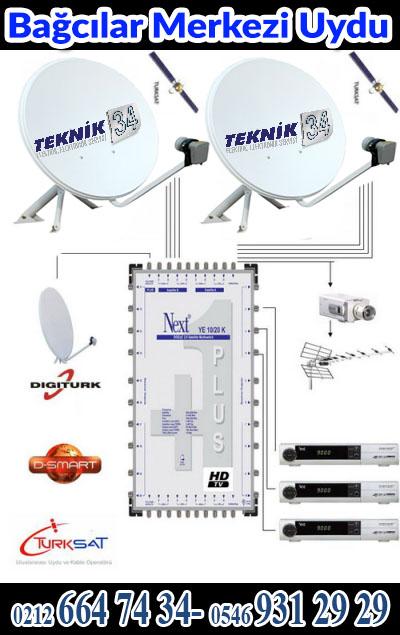 Bağcılar Merkezi Uydu Sistemi