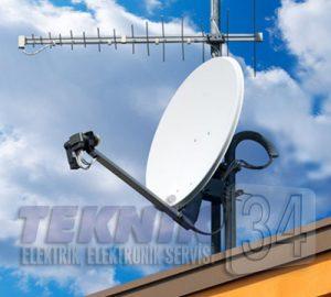bayrampaşa uydu çanak anten kurulumu